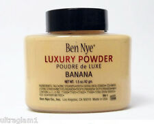 Ben Nye BANANA Powder 1.5oz SIFTER Bottle Luxury Face Makeup DRAG QUEEN/FREE S&H