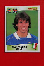 Panini EURO 96 N. 250 ITALIA ZOLA New With BLACK back TOPMINT!!