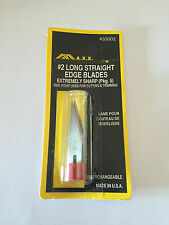 MAXX TOOLS 33002 - #2 LONG STRAIGHT EDGE BLADES LAME PER CUTTER
