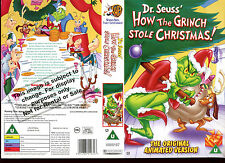 Dr Seuss How The Grinch Stole Christmas - Video Promo Sample Sleeve/Cover #16597