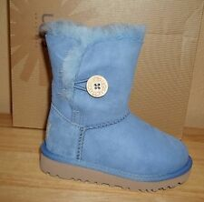 UGG Australia Bailey Button Kids Toddler Sheepskin Boots New NIB US 8 /EU 25