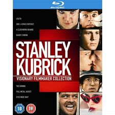 Stanley Kubrick Visionary Filmmaker Collection (8 Disc Box set Blu-ray New)