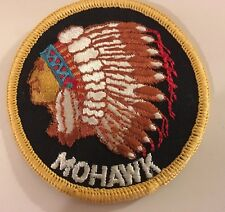 "Vtg ""MOHAWK"" Patch Native American Indian 70s Hippy Deadstock NOS  From USA"