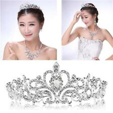 Fashion Lady Bridal Princess Tiara Austrian Crystal Wedding Hair Crown Headband