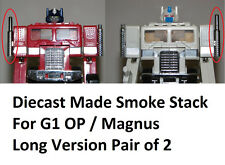 TRANSFORMERS 25th Anniversary G1 Optimus Prime Ultra Magnus SMOKE STACK Diecast