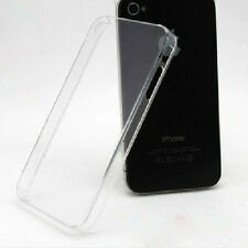Ultra Thin Crystal Transparent Clear Hard Plastic Case Cover For iphone4 4S 1pc