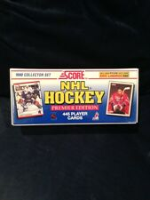 1990 Score Hockey Factory Set Sealed Brodeur Rookie mike Richter r.c