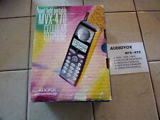 NIB NOS Audiovox MVX 470 - Black (Unlocked) Cellular Phone