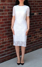 Vintage Wedding Cut out Crochet Lace Dress Sz XS S 2 38  Dolce Gabbana Stl