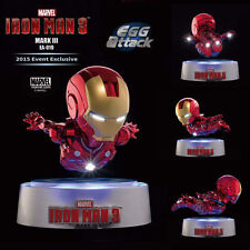 Iron Man EA-019 MARK III MK3 Magnetic Floating Version LED Figurine No Box