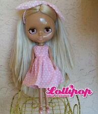 Factory Type Neo Blythe Blonde Hair - Includes Outfit