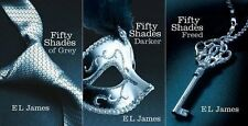 The Fifty Shades Trilogy (Book 1, 2 & 3) Fifty Shades of Grey, Darker, Freed
