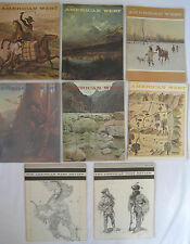 THE AMERICAN WEST MAGAZINE -  6 ISSUES - 1966 & 1967 + 2 REVIEWS