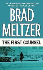 The First Counsel by Brad Meltzer (2001, Paperback, Reprint)