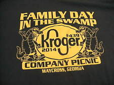 2014 Kroger #439 Family Day In the Swamp Company Picnic , Waycross Ga T Shirt 2X