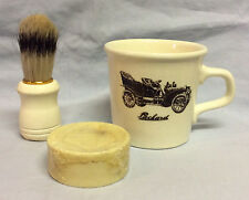 Vintage Taylor International Packard Shaving Cup Mug Wrapped Surrey Soap Brush