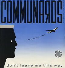 """Maxi 12"""" The Communards Don`t Leave Me This Way / Sanctified 80`s"""