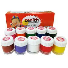 korea Makeup Face Body Painting kit 10ml*10colors party makeup face paint sale!
