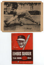 1947 HOMOGENIZED BOND BREAD PREMIUM STAN MUSIAL RC 1944 FAMOUS SLUGGER YEARBOOK