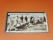 CHROMO PHOTO CHOCOLAT SUCHARD 1930 COLONIES ALGERIE AFRIQUE LUTTE CONTRE CRIQUET