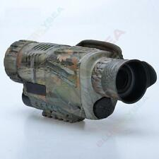 """Infrared Night Vision Monocular IR Scope 1.44"""" LCD Zoom Video Photo DVR A02"""