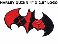 Batman Harley Quinn EMBROIDERED PATCH dc comics iron sew on Officially Licensed