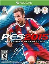 NEW Pro Evolution Soccer 2015 (Microsoft Xbox One, 2014) PES