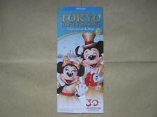 Tokyo Disney Resort 2013-2014 Park Guide Book & Map