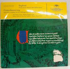 """WAGNER SIEGFRIED GÖTTERDÄMMERUNG VARNAY WINDGASSEN HERMAN WEIGERT 12"""" LP (d964)"""