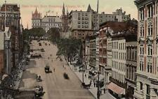 Antique POSTCARD c1910s State Street from Broadway ALBANY, NY 19091