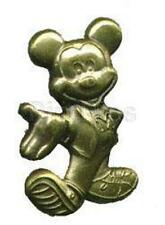 SPORTY MICKEY Mouse IN TENNIS SHOES BRASS VTG 80s Disney MONOGRAM PIN