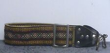 Classic 1970's Hippie Camera Strap w/Stylized X or Diamond Pattern A1432