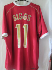 Manchester United 2006-2007 Home Giggs 11 Football Shirt Size xl /34637