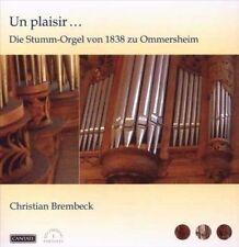 Un Plaisir...Die Stumm-Orgel zu Ommersheim, New Music