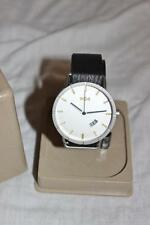 HOUSE OF MARLEY Large Face HITCH LEATHER WATCH New Boxed $160