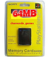 64mb Memory Card  for PS2 Playstatio​n 2 Console * Brand New Sealed