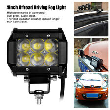 30W Led Light Bar Flood Work Light 4WD ATV SUV Off-road Driving Fog Lamp 6000K