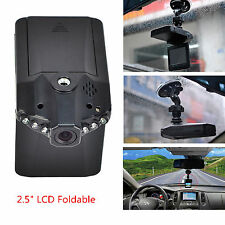 "270°Rotatable Foldable 2.5"" LCD Monitor Car DVR Video Recorder Camera Tachograph"