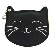 Katy Perry Black Cat ID Holder Prism Collection Black Faux Leather NWT