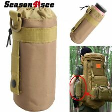 1L Water Bag Tactical Military Molle System Water Bottle Bag Kettle Pouch Holder
