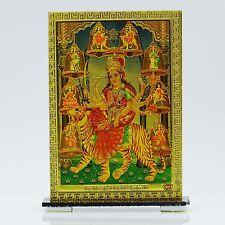 Göttin Durga Kristall Plastikfolie Auto Dekor Tischdekoration als Geschenk