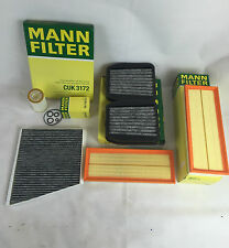 Mann-Filter set Filtre à huile Charbon Actif Filtre à air Mercedes w211 e500 225 KW