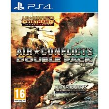 Air Conflicts Double Pack (Vietnam & Pacific Carriers) PS4 Game Brand New