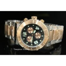 Invicta Reserve Ocean Reef Quartz Chronograph 18k Rose Gold-Plated SS Mens Watch