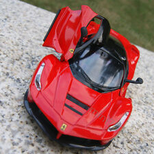 La Ferrari 1:32 Alloy Diescast Model Cars Sound&Light Toys Collection&Gifts Red