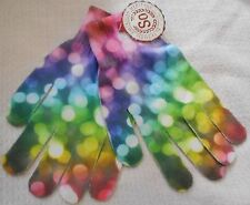 SHINING LIGHTS Real Photo Texting Gloves SO American Heritage NWT PINK PURPLE