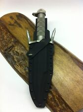 Custom Black Kydex Sheath For Buck  Knives 184 Buckmaster Knife Scratchless