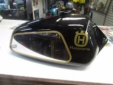 1978 HUSQVARNA 390OR  GAS FUEL TANK  REPAINTED