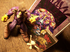 THE MAXX MCFARLANE ACTION FIGURE  THE MAXX 1/2 & MAXX-IMUM SOUND AUDIO TAPE