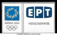 OLYMPIC PINS 2004 ATHENS GREECE EPT SPONSOR LOGO